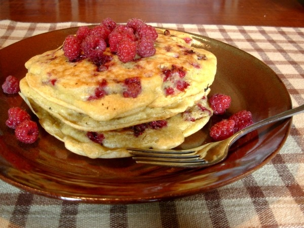 Raspberry Pancakes | Breakfast | Pinterest