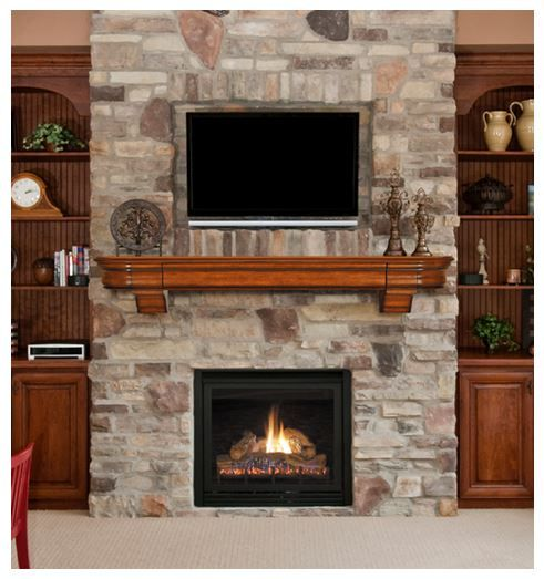 Pin By Tanya Grimsley On Diy Fireplace Makeovers Brick Tile Stack