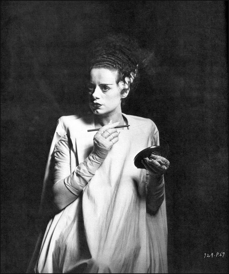 Bride of Frankenstein  1935   actress Elsa LanchesterBride Of Frankenstein Actress