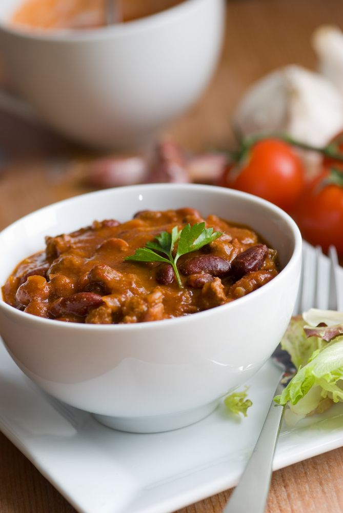 beef chili | Slow-Cooker Recipes | Pinterest
