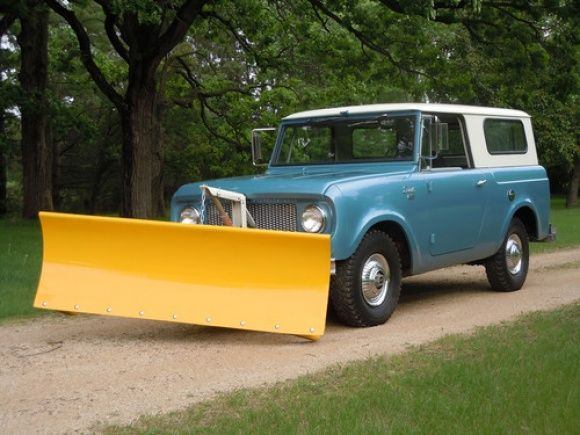 1963 International Harvester 12k mi Scout 80 Plow