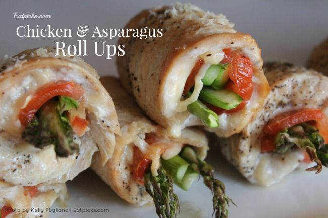 ... with this simple yet impressive chicken and asparagus roll up recipe