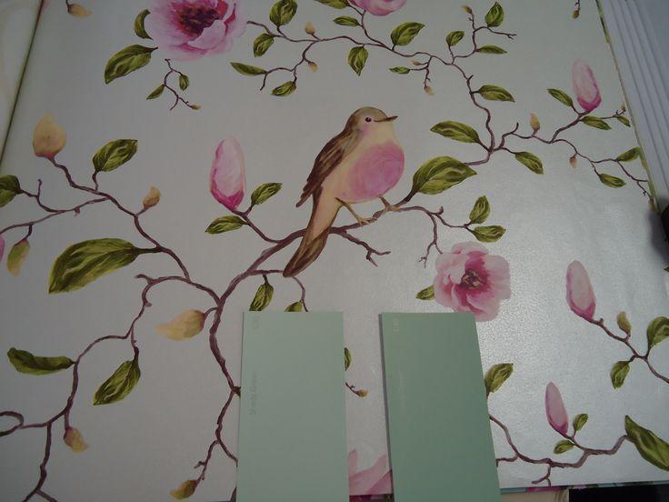 Behang Slaapkamer Idee : Behangpapier slaapkamer Ideetjes voor in huis ...