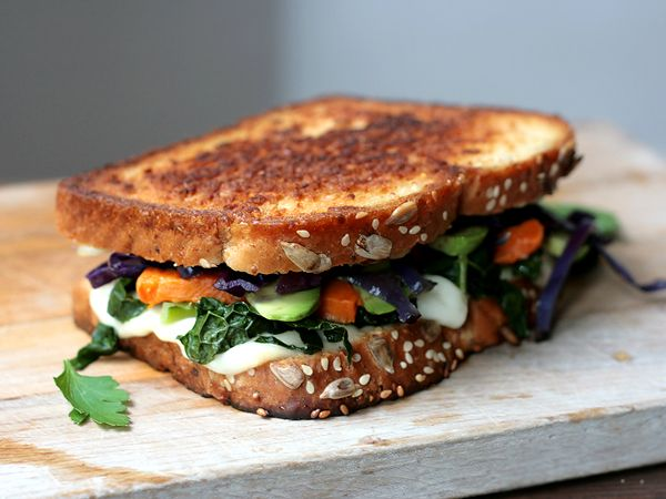 Mozzarella Grilled Cheeses