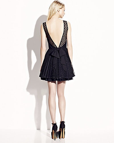 low cut back party dress black clothesbagsshoes