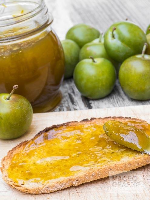Greengage Jam Breakfast /© Wim Lanclus | food photography | Pinterest