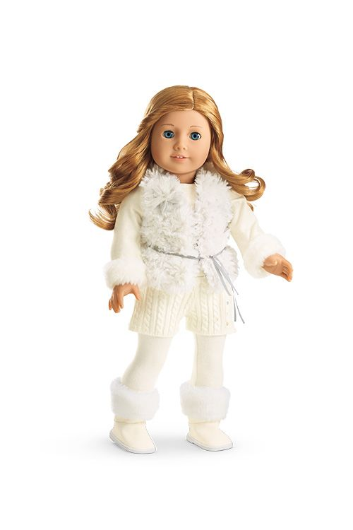 Winter White Outfit for Dolls