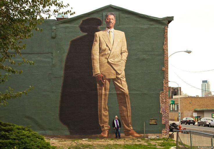 Philly julius erving mural awesome art artists pinterest for Dr j mural philadelphia