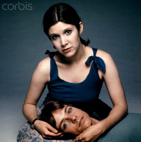 Mark and Carrie | Star Wars - cast, crew and friends | Pinterest Revengeofthesith