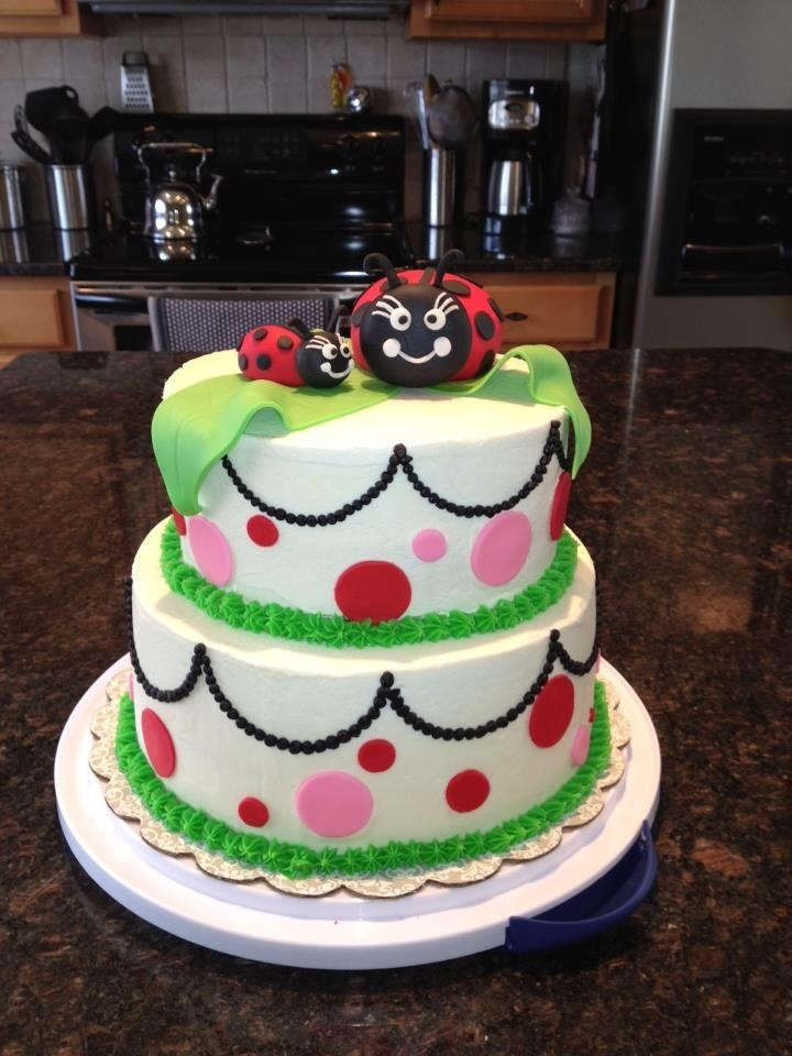 pin ladybug baby shower cake coolest birthday cakes cake on pinterest