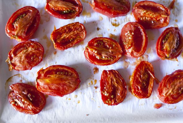 Oven dried tomatoes | Recipes | Pinterest
