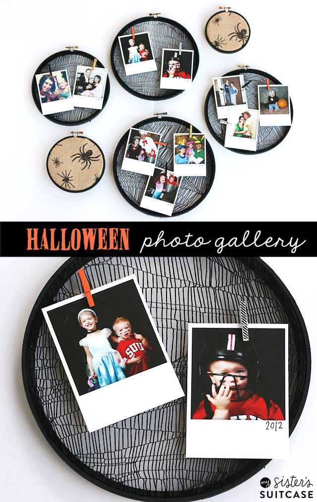 A Halloween themed photo gallery