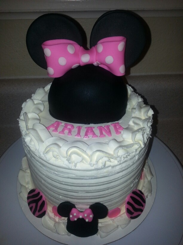 Minnie Mouse Baby Shower Cake Baby shower ideas Pinterest