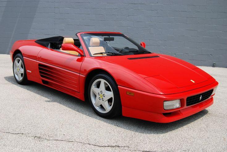 1993 Ferrari 348 Spider 90s Cars Pinterest