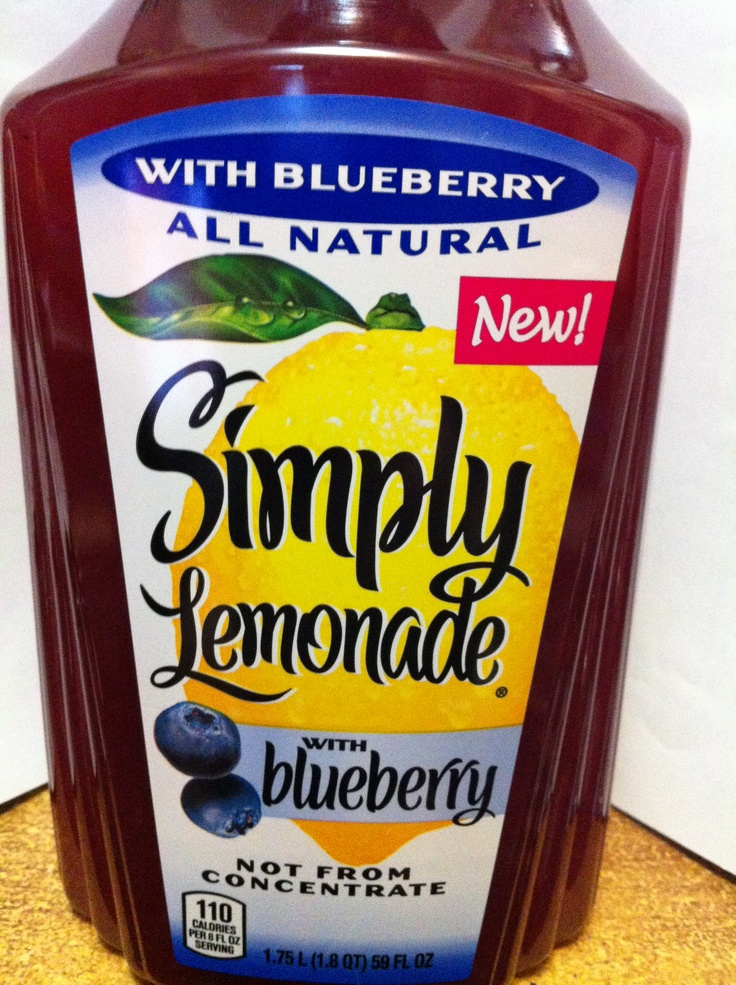 Simply Lemonade with Blueberry | Healthy/ Treats/ Workouts ...