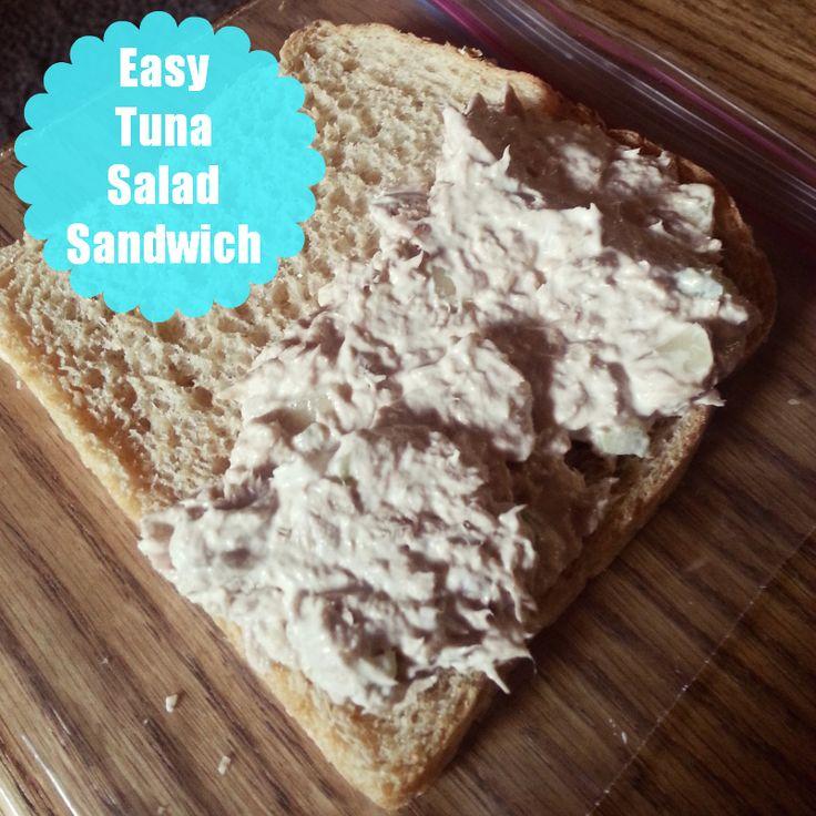 Recipe: Easy Tuna Salad Sandwich | Favorite Blogger Recipes | Pintere ...
