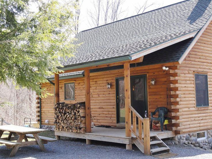 Pulaski Ny Cabin On River Front Porch Cabin Pinterest