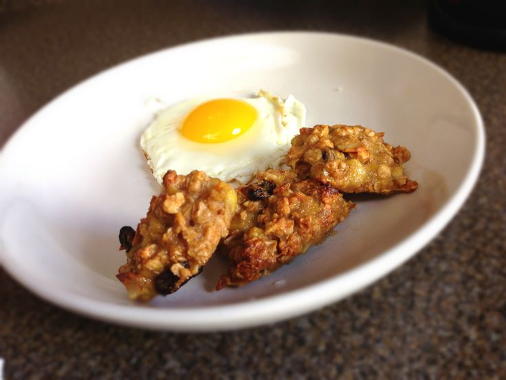 Banana & Granola Breakfast Cookie. Adjust from Gina's recipe http ...