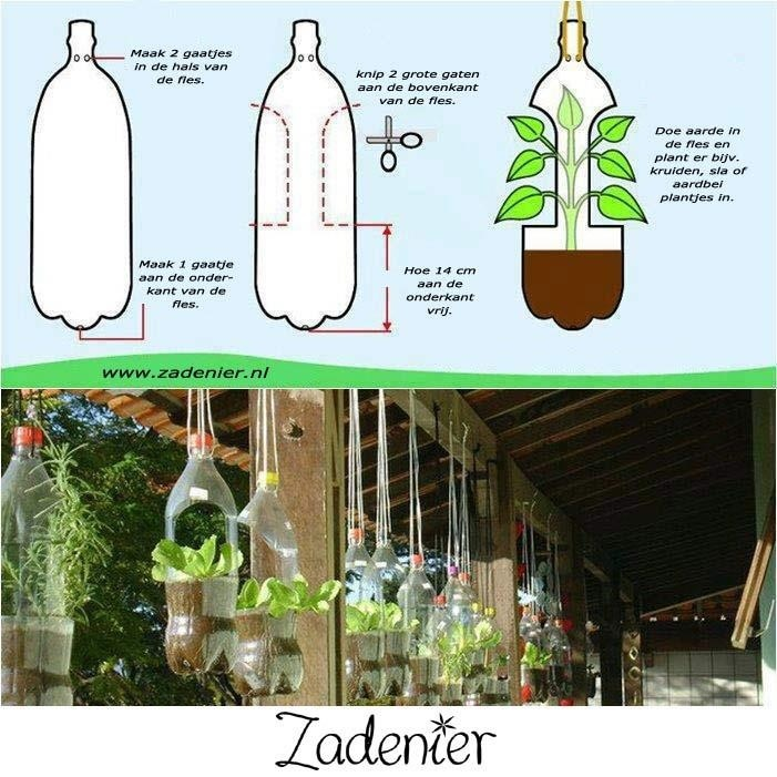 Diy hanging garden third world living pinterest for Diy vegetable garden