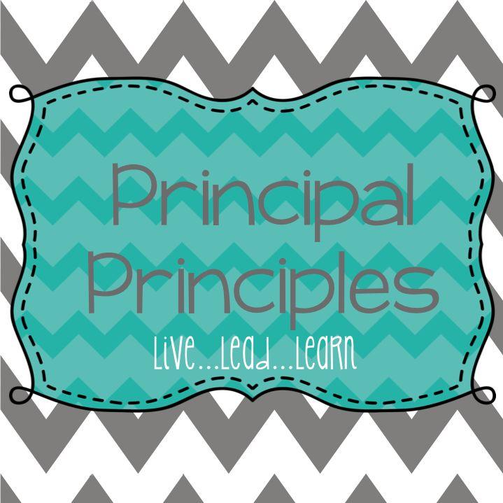 Principal Principles Live...Lead...Learn