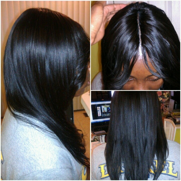 Best Image Of Sew In Hairstyles With Invisible Part Hope Wrigley