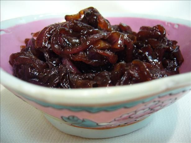 Red Onion Marmalade. Going to use this as a starting point in trying ...