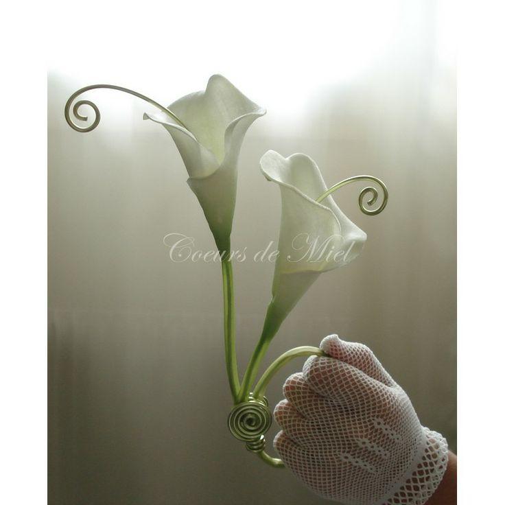 Nature et l gant ce porte alliance sera id al pour un mariage au th me arum - Support alliances mariage ...