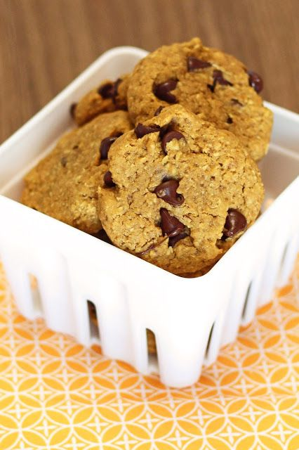 Gluten Free Vegan Pumpkin Chocolate Chip Cookies