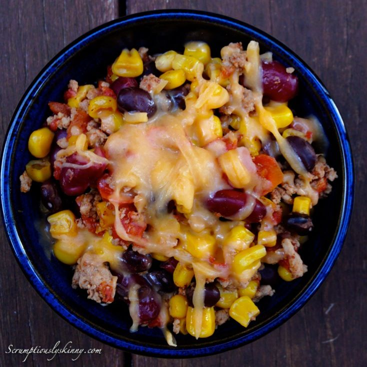 Dinner - Easy (Healthy) Turkey Chili by Scrumptiously Skinny - Turkey ...