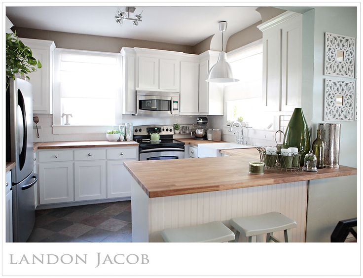 White #kitchen cabinets, taupe walls  Home Decor Ideas  Pinterest
