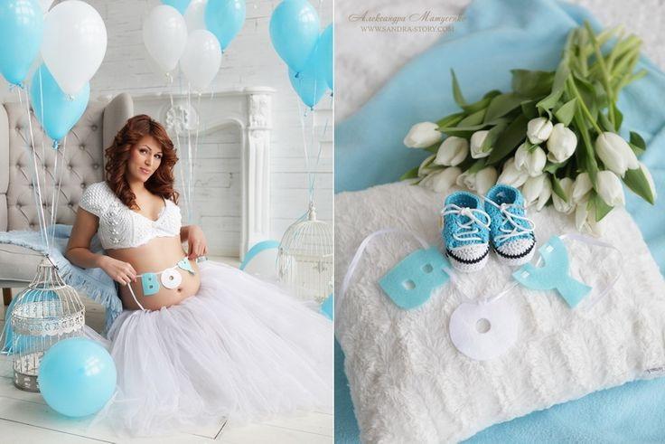 Фотозона дома для беременных