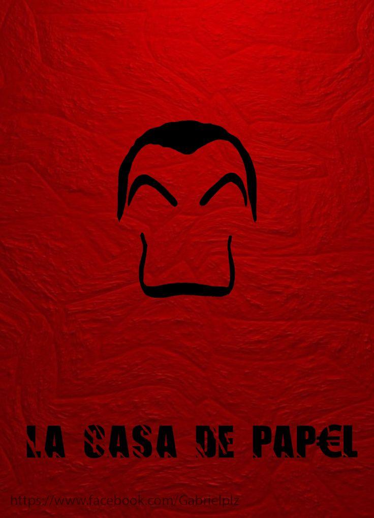 La Casa De Papel Alternative Poster Movies Pinterest Wallpaper Netflix Tvs
