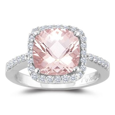 Beautiful pink diamond ring beautiful jewelry i no for Pink diamond wedding rings