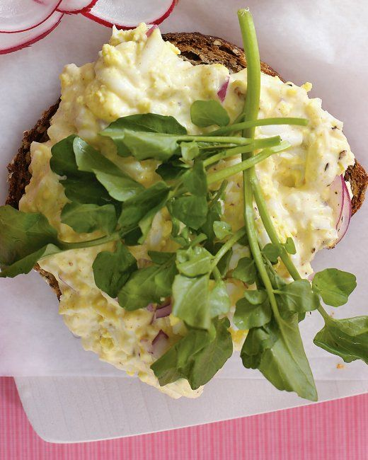 Egg Salad, Salmon, And Radish Sandwich Loaf Recipes — Dishmaps