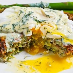 Asparagus and Feta Fritters | VEGGIES & FRUITS | Pinterest