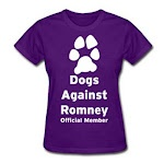 Dogs Against Romney! FYI you don't put a dog on the roof of a car and then start driving!
