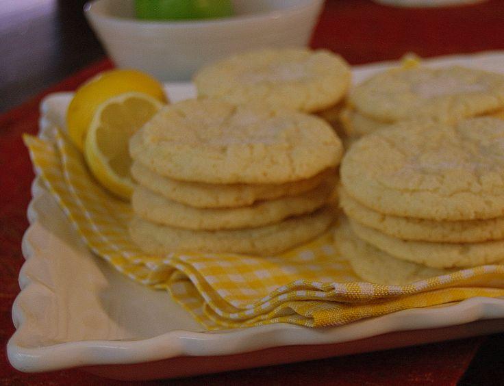 Chewy Lemon Sugar Cookies | baked | Pinterest