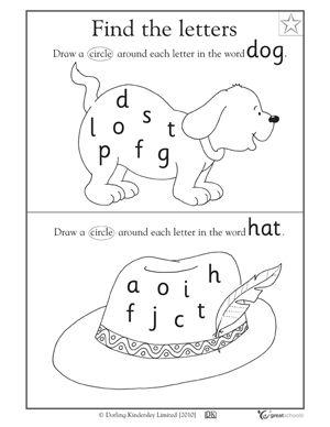 Number Names Worksheets : letter c worksheets kindergarten ~ Free ...