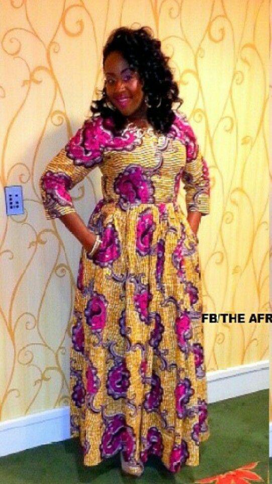 Beautiful | African Dress | Pinterest
