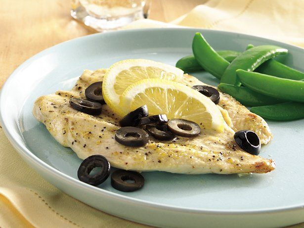 ... chicken breasts with olives and lemons for marvelous Mediterranean