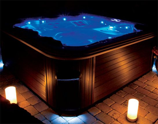light up hot tub for the home pinterest