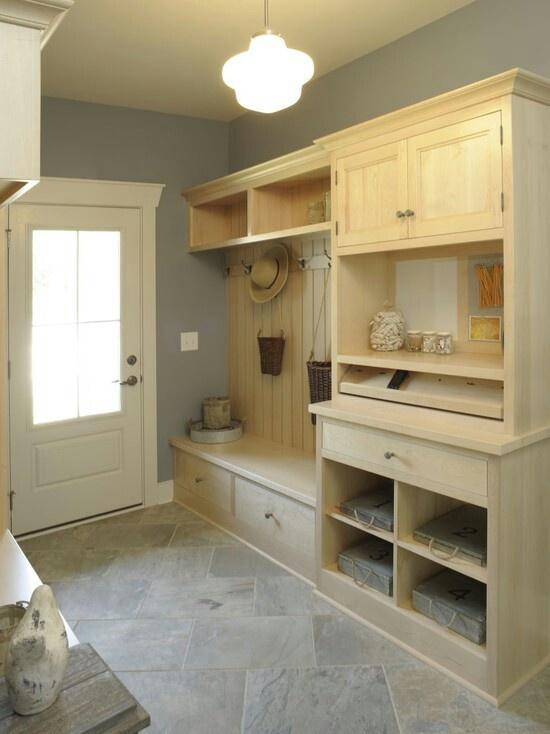 Drop zone garage mudroom ideas pinterest for Kitchen drop zone ideas