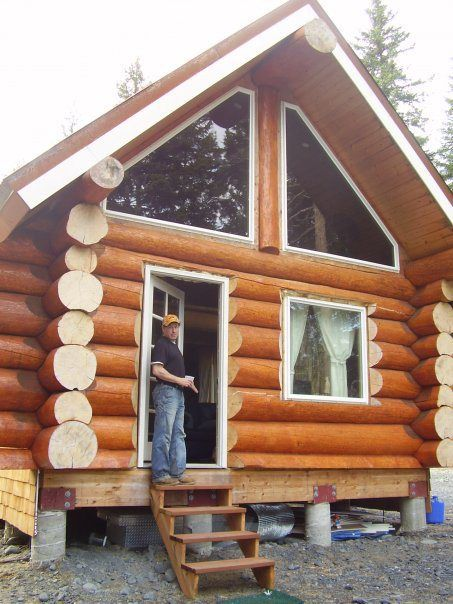 Building The Alaska Cabin Sustainable Living Pinterest