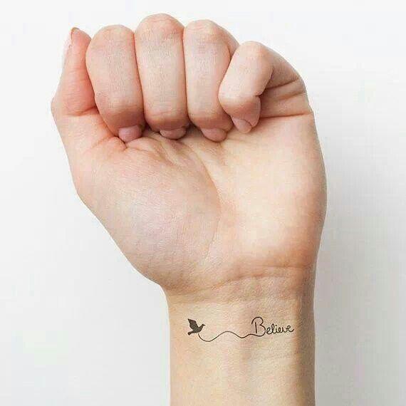 Small Tattoo Wrist