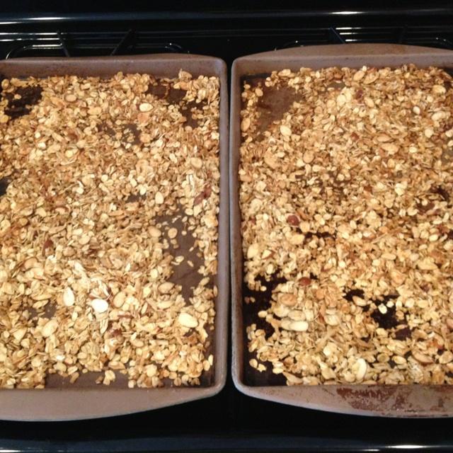 Coconut-almond granola | Stuff I've Made | Pinterest
