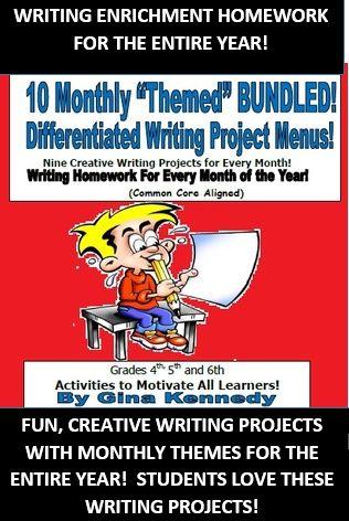 Homework help creative writing