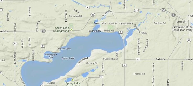 301 moved permanently for Green lake wi fishing