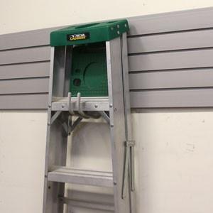 ... for ladder storage. | Garage Storage and Shop Ideas | Pinter