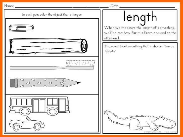 ... Short Shorter Shortest Worksheet. on kindergarten height worksheet