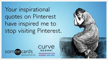 uninspiring inspiration someecards pinterest